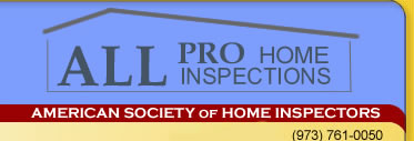 All Pro Home Inspections New Jersey Certified Home